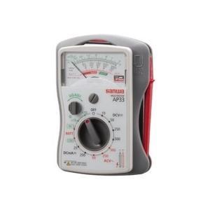sanwa/三和電気計器  アナログマルチテスタ/薄型 AP33|murauchi