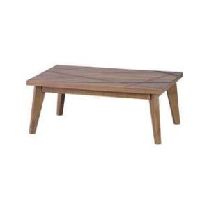 東谷 あづまや 天板105×75cm こたつテーブル リネア105BRの商品画像|ナビ