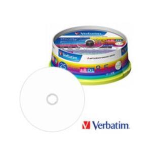 Verbatim/バーベイタム  データ用DVD+R DL 8.5GB(2.4-8倍速対応) スピンドルケース 25枚 DTR85HP25V1|murauchi