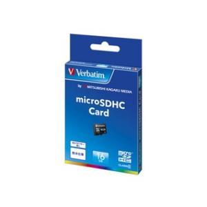 Verbatim  MHCN16GYVZ1 microSDカード 16GB