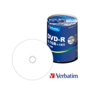 Verbatim/バーベイタム  データ用DVD-R 4.7GB 1〜16倍速 スピンドル 100枚 DHR47JP100V4|murauchi