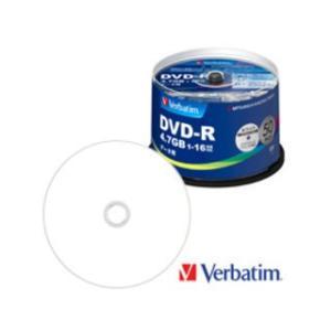 Verbatim/バーベイタム  データ用DVD-R 4.7GB 1〜16倍速 50枚 スピンドルケース DHR47JP50V4|murauchi