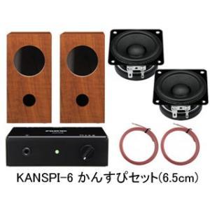 FOSTEX/フォステクス  KANSPI-6 かんすぴセット(6.5cm)(1ペア)|murauchi