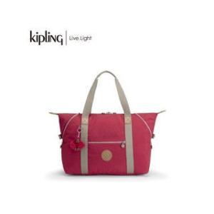 KIPLING/キプリング  ART M/アートエム トラベルバッグ (True Red C/トゥルーレッドコンボ)|murauchi