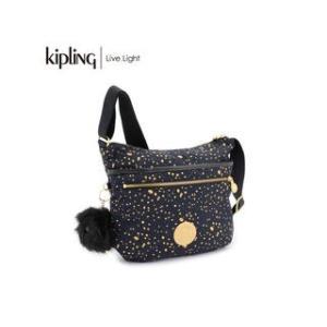 KIPLING/キプリング  ARTO/アルト 斜めがけショルダー バッグ ツイストレジャーコレクション (Golden Night/ゴールデンナイト)|murauchi