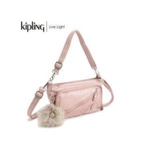 KIPLING/キプリング  MILOS/ミロス ミニショルダーバッグ (Metallic Blush/メタリックブラッシュ)|murauchi