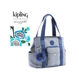 KIPLING/キプリング  CARTER ハンドバッグ(Tsubaki Cotton)|murauchi