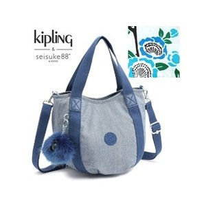 KIPLING/キプリング  LITTLE BALLOON/リトル バルーン ミニバッグ(Tsubaki Cotton)|murauchi