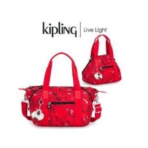 KIPLING/キプリング  【最新作】 D ART MINI/アート ミニ ハンドバッグ(SKETCH RED/スケッチ レッド)|murauchi