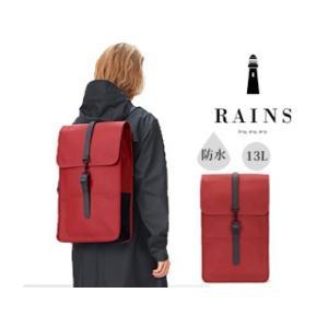 RAINS/レインズ  ♪本格防水 レインバッグ/バックパック 【スカーレット】 Backpack Scarlet O.S murauchi