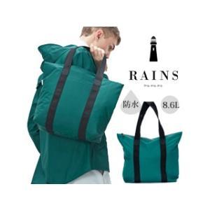 RAINS/レインズ  ♪本格防水  レイントートバッグ//Tote Bag Rush Teal O.S murauchi