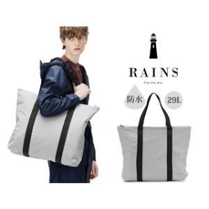 RAINS/レインズ  ♪本格防水 レイントートバッグ 【ストーン】Tote Bag murauchi