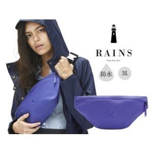 RAINS/レインズ  ♪本格防水 ボディバッグ 【ライラック】  バムバッグ/Bumbag|murauchi