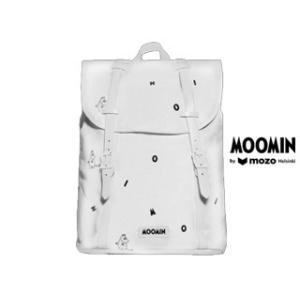 Moomin by mozo/ムーミンバイモゾ  ムーミン■プレミアムキャンバスバックパック 【ホワイト/アイコン】 BPWIC|murauchi