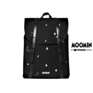 Moomin by mozo/ムーミンバイモゾ  ムーミン■プレミアムキャンバスバックパック 【ブラック/アイコン】 BPBIC|murauchi