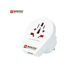 SKROSS/エスクロス  変換アダプター World to UK USB|murauchi