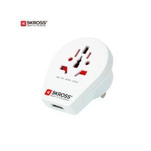 SKROSS/エスクロス  変換アダプター World to USA USB|murauchi