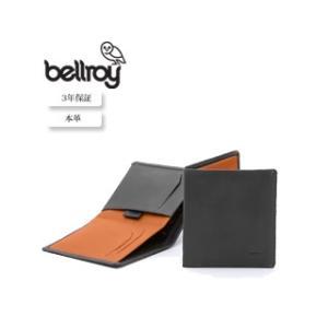 Bellroy/ベルロイ  本革財布■ノートスリーブ 【チャコール】■|murauchi