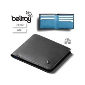 Bellroy/ベルロイ  本革財布■ハイド&シーク【チャコール】RFID保護機能付■