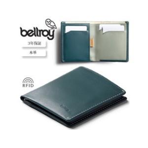 Bellroy/ベルロイ  本革財布/スキミングガード■ノートスリーブ【ティール】■ murauchi