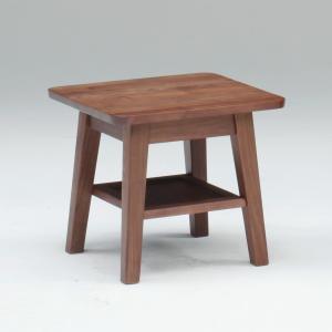 サイドテーブル コーヒーテーブル ミニテーブル ブルーノ 45 サイドテーブル 40H /木製/ウォールナット/北欧/|murauchikagu