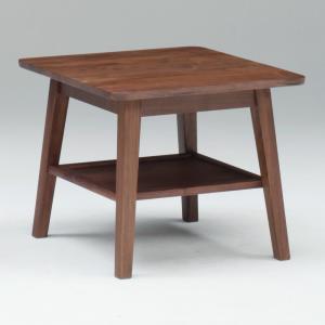 サイドテーブル コーヒーテーブル ミニテーブル ブルーノ 60 サイドテーブル 50H /木製/ウォールナット/北欧/|murauchikagu