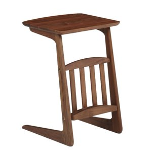 サイドテーブル ミニテーブル ソファテーブル 木製 ウォールナット ブルーノ 40