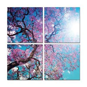 アートパネル 4パネル 桜 Cherry Blossoms|murauchikagu