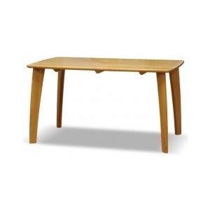 無垢材 ダイニングテーブル トースト 130cm オイル塗装/アルダー無垢材/ナチュラル murauchikagu