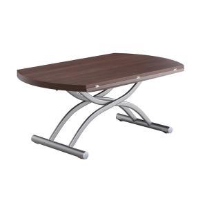 リフティングテーブル OZZIO ロンド 125 ウォールナット イタリア製 昇降・拡張テーブル murauchikagu