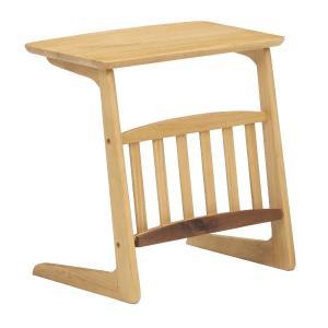 サイドテーブル コーヒーテーブル ミニテーブル ルック 55 ソファテーブル /マガジンラック/木製|murauchikagu