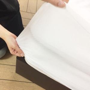 防水透湿ボックスシーツ マットレスプロテクター クラシック クイーン Protect-A-Bed 防水シーツ おねしょ対策に。保育園/介護/四隅/ゴム|murauchikagu
