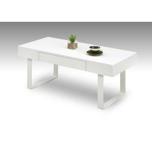 センターテーブル リビングテーブル ローテーブル 引き出し 白 ホワイト サムディ|murauchikagu