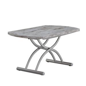 リフティングテーブル OZZIO ロンド 125 ヴィンテージ イタリア製 昇降・拡張テーブル|murauchikagu