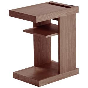 サイドテーブル KST-238 WT /コイズミ/ナイトテーブル/ベッドサイド/コンセント/おしゃれ/ murauchikagu