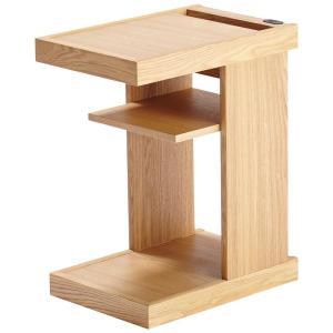 サイドテーブル KST-237 NS /コイズミ/ナイトテーブル/ベッドサイド/コンセント/おしゃれ/ murauchikagu