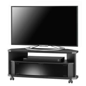テレビ台 コーナー テレビボード TVボード ローボード ヌック NOA-800AV BK murauchikagu