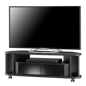テレビ台 コーナー テレビボード TVボード ローボード ヌック NOA-1000AV BK murauchikagu
