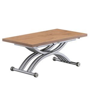 リフティングテーブル OZZIO サリスカンディ ML92 オークナチュラル イタリア製 昇降・拡張テーブル murauchikagu