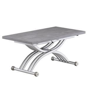 リフティングテーブル OZZIO サリスカンディ ML50 ストーングレー イタリア製 昇降・拡張テーブル murauchikagu