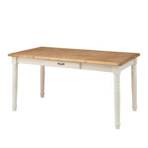 ダイニングテーブル おしゃれ カントリー パイン材 オイル仕上げ 天然木 水性塗装  CFS-211 murauchikagu