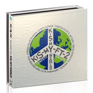 2015 CONCERT TOUR KIS-MY-WORLD(DVD4枚組)(初回生産限定盤) 新品未開封 送料無料|murofushikenbu