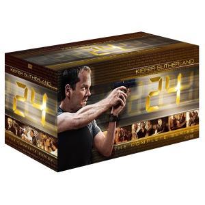 24 -TWENTY FOUR- ジャック・バウアー コンプリートDVD-BOX(「リブ・アナザー・デイ」ブルーレイディスク付) シーズン1〜8 全巻コンプリートセット|murofushikenbu