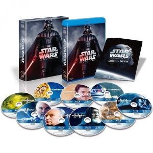 スター・ウォーズ コンプリート・サーガ ブルーレイコレクション(9枚組) (初回生産限定) [Blu-ray] 新品 送料無料 在庫あります|murofushikenbu
