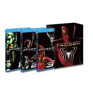 スパイダーマン トリロジーBOX [Blu-ray] トビー・マグワイア  キルスティン・ダンスト 新品未開封 送料無料 ブルーレイ|murofushikenbu