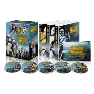 スター・ウォーズ:クローン・ウォーズ シーズン1-5 コンプリート・セット(22枚組) [DVD]|murofushikenbu