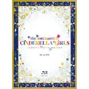 THE IDOLM@STER CINDERELLA GIRLS 2ndLIVE PARTY M@GIC!! Blu-ray BOX Blu-ray 3枚組(本編2枚、特典ディスク1枚) 【完全限定生産】新品未開封 送料無料|murofushikenbu