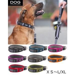 犬 首輪 首や喉に優しいデザイン ダブルリング アーバンエクスプローラーカラー(首輪) ドッグコペン...