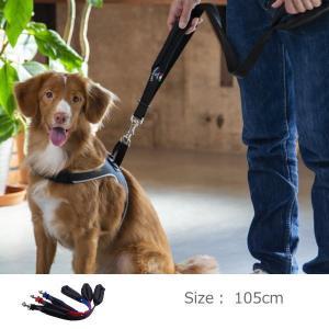 犬 リード 中型犬・大型犬用 トレ・ポンティ Double Safety Handle Leash ...