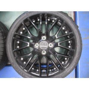 【carlsson 1/10X RSR】 16x5J +45 165/45R16 軽自動車 N BOX タント スペーシア デイズルークス カールソン ブラックエディション|musashimurayama